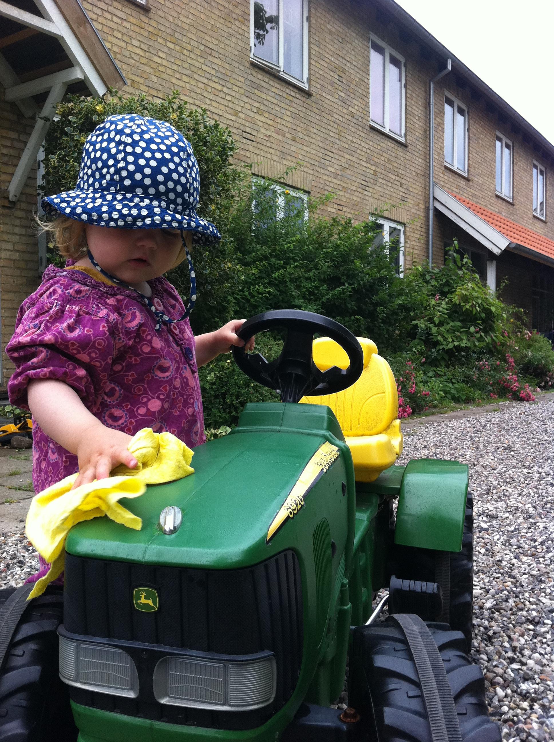 Vue Mod Syd Og Traktorvask
